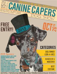 Canine Capers 2013
